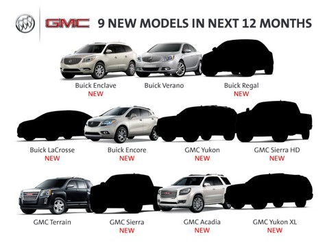 0920 Buick GMC New Models medium at Nine New Models Announced For GMC and Buick