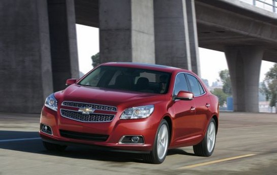 2013 Malibu Turbo at 2013 Chevrolet Malibu Turbo EPA Rating