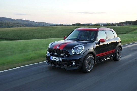 2013 mini countryman john cooper works specs. Black Bedroom Furniture Sets. Home Design Ideas