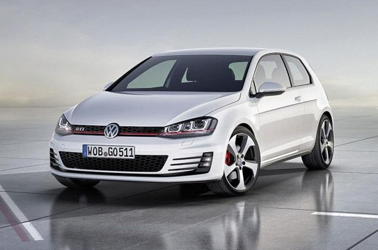 2013 VW Golf GTI 1 at 2012 Paris: 2013 Volkswagen Golf GTI