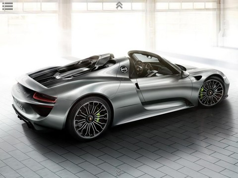 918 Spyder 3 at Porsche 918 Spyder: New Pictures and Video