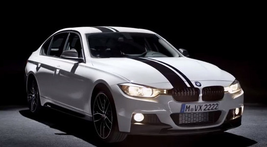 BMW 3 Series. BMW M Performance 1 at BMW 3 Series M Performance Parts Teaser