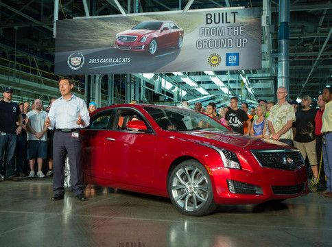 FirstCadillacATS02 First Cadillac ATS To Be Auctioned For Charity