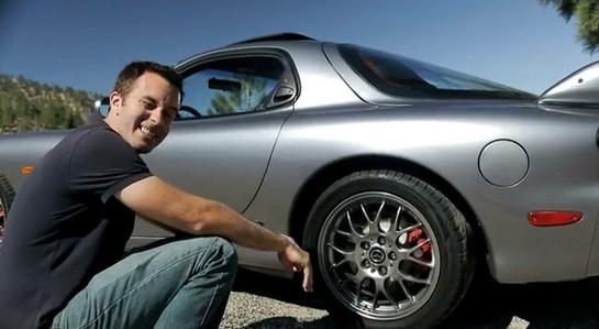 Carlos Lago Drives Mazda Rx 7 Spirit R