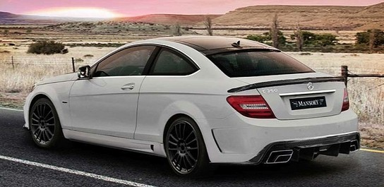 Mercedes C Class Coupe By Mansory
