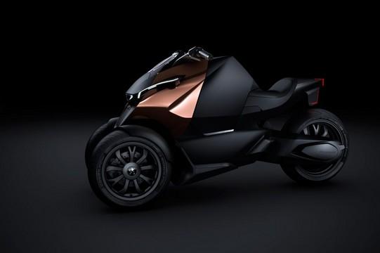 Peugeot Onyx Concept Scooter Set For Paris Debut Peugeot Onyx Concept Scooter 1