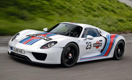 Porsche 918 Spyder Official Nurburgring Record   7:14 Porsche 918 Spyder Prototype 1