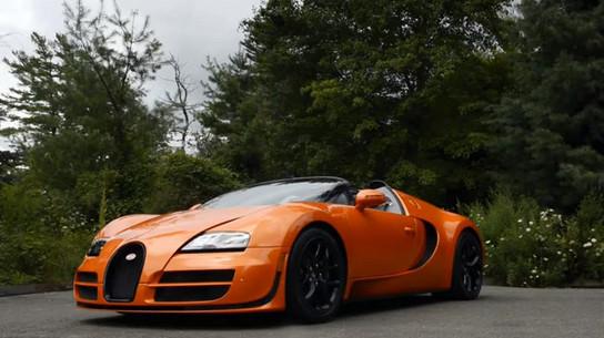 bugatti veyron grand sport vitesse driving footage. Black Bedroom Furniture Sets. Home Design Ideas