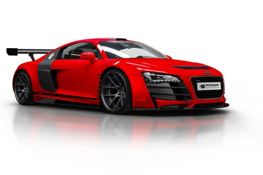 Prior Design GT3 Body Kit for Audi R8 prior R8 GT3 1