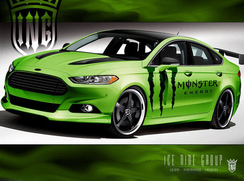 2013 Ford Fusion SEMA Cars Revealed 2013 Ford Fusion SEMA 4