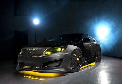 Batman themed Optima Batman themed Kia Optima Revealed