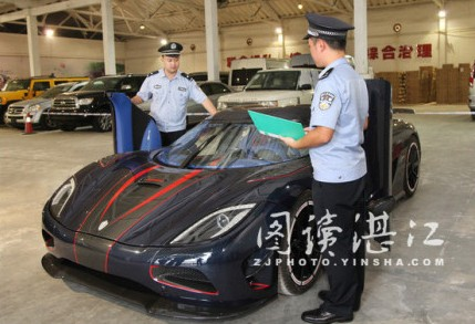 Chinese Customs Seizes Koenigsegg Agera R BLT 1 at Chinese Customs Seizes Koenigsegg Agera R BLT