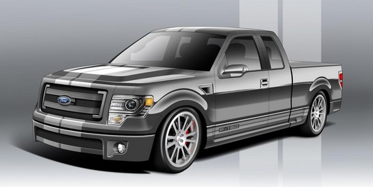 Ford F Series Trucks 1 at 2012 SEMA: Ford F Series Pickup Trucks