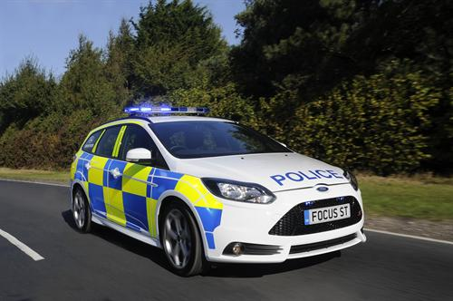 Ford Focus ST 1 at Ford Focus ST In UK Police Livery