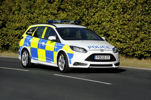 Ford Focus ST 2 at Ford Focus ST In UK Police Livery