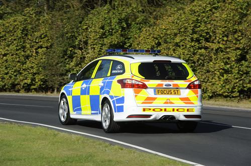 Ford Focus ST 3 Ford Focus ST In UK Police Livery
