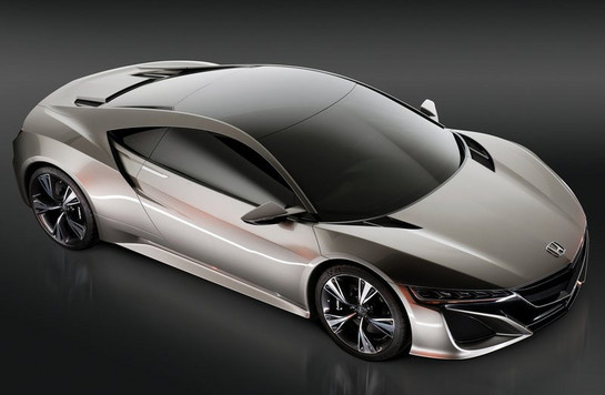Honda NSX Concept at Production Honda NSX Coming To 2013 NAIAS