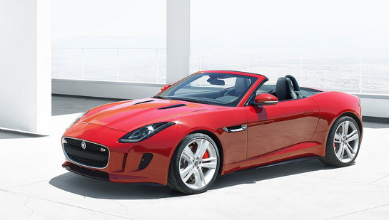 Jaguar F Type at Jaguar F Type U.S. Pricing Revealed