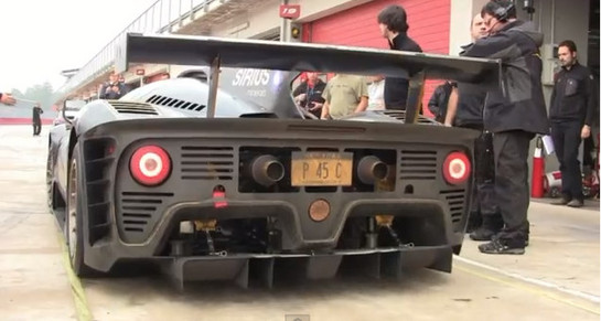 Ferrari P4/5 Competizione Is Awesomely Loud P4 5 Competizione