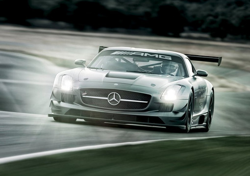 SLS GT3 45th Anniversary 3 at Mercedes SLS GT3 45th Anniversary In Action