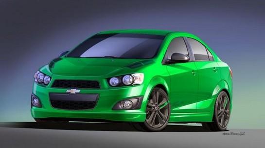 2012 SEMA: Chevrolet Sonic, Spark and Cruze