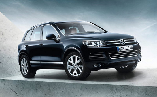 VW Touareg Edition X Announced