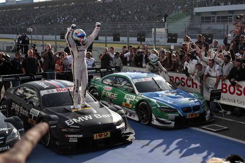 bmw dtm 2 at BMW Wins 2012 DTM Championship