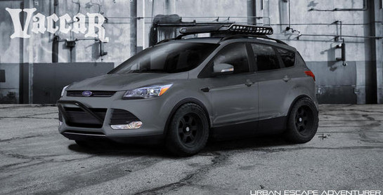 2012 Sema Ford Escape And Explorer