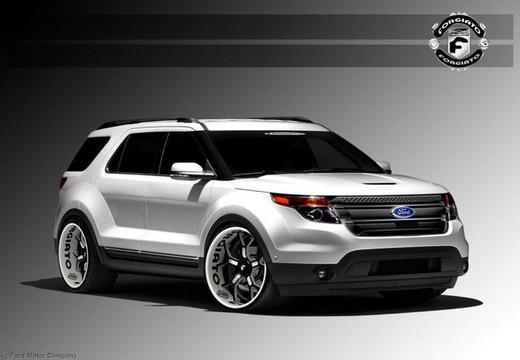 2012 Ford Escape Black Rims >> 2012 SEMA: Ford Escape and Explorer