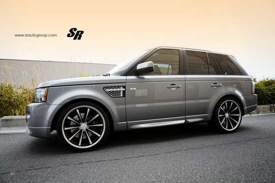 Sr Auto Range Rover Sport With Vossen Wheels