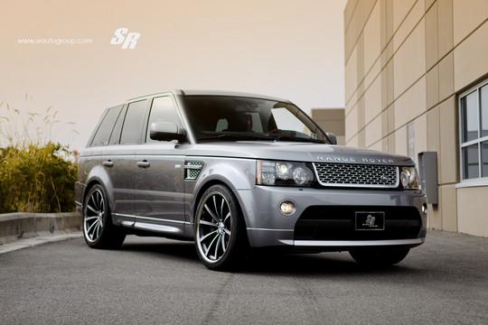 Sr Auto Range Rover Sport With Vossen Wheels