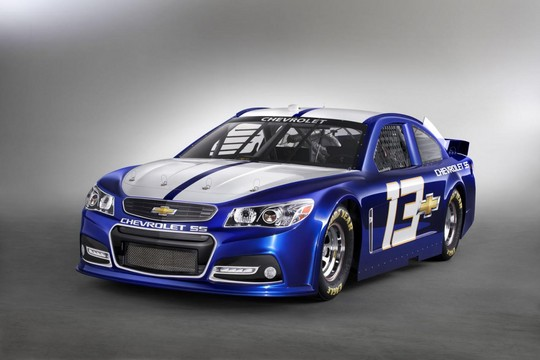 2013 NASCAR Chevrolet SS 1 at 2013 Chevrolet SS NASCAR Racer Unveiled
