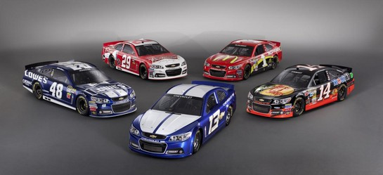 2013 NASCAR Chevrolet SS 2 at 2013 Chevrolet SS NASCAR Racer Unveiled