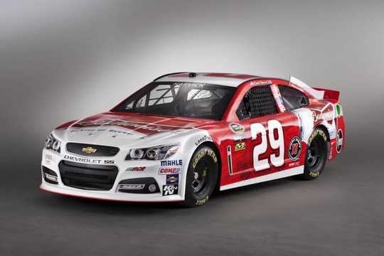 2013 NASCAR Chevrolet SS 3 at 2013 Chevrolet SS NASCAR Racer Unveiled