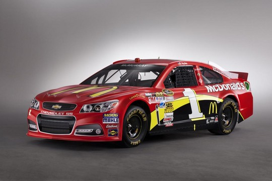 2013 NASCAR Chevrolet SS 4 at 2013 Chevrolet SS NASCAR Racer Unveiled