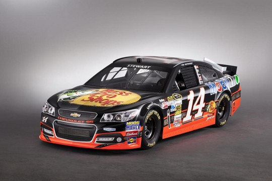 2013 NASCAR Chevrolet SS 5 at 2013 Chevrolet SS NASCAR Racer Unveiled