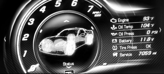 2014 corvette at 2014 Corvette Teaser Number 2: Calibration