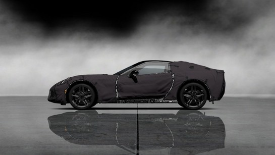 Chevrolet CorvetteC7 Test Prototype 001 medium at 2014 Corvette Available Now In Gran Turismo 5