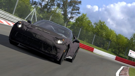 Chevrolet CorvetteC7 Test Prototype 002 medium at 2014 Corvette Available Now In Gran Turismo 5