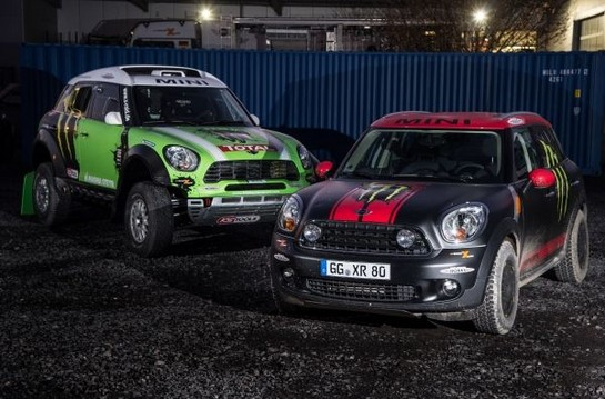 Countryman For Dakar Rally 2013 1 at X Raid MINI Countryman For Dakar Rally 2013