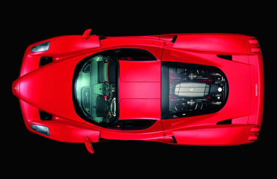 Enzo replacement at Ferrari Enzo Replacement Details Revealed