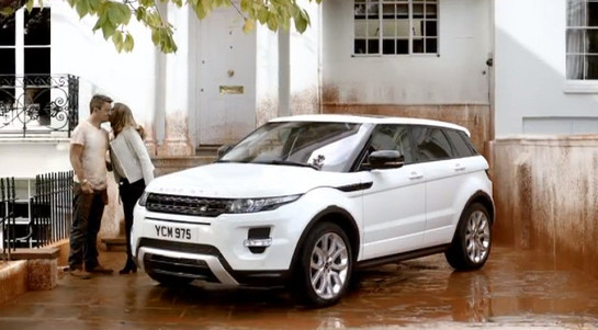 Evoque TV spot at New TV Spot For Range Rover Evoque