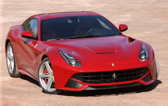 first ferrari f12 berlinetta in america to be auctioned for sandy relief. Black Bedroom Furniture Sets. Home Design Ideas