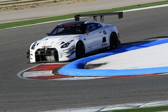 GTR GT3 Track 1 at 2013 Nissan GT R NISMO GT3 Gets First Shakedown