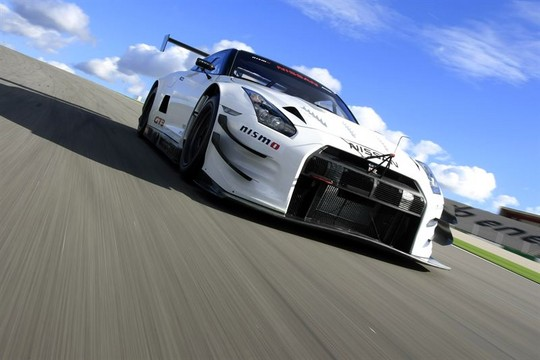 GTR GT3 Track 2 at 2013 Nissan GT R NISMO GT3 Gets First Shakedown