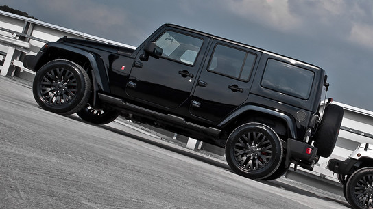 Kahn Design Jeep Wrangler Sahara Black