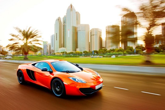 "McLaren Automotive image 2 at McLaren 12C Wins Middle East ""Car of the Year"" Award"