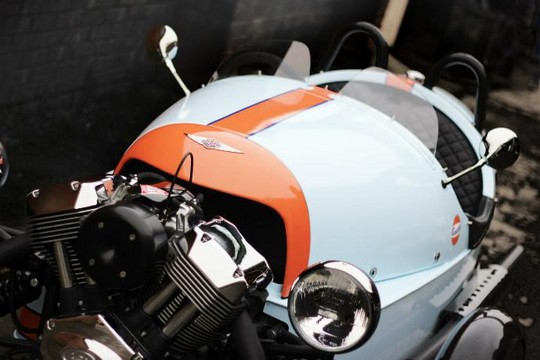 Morgan 3 Wheeler Gulf Edition 1 at Morgan 3 Wheeler Gulf Edition