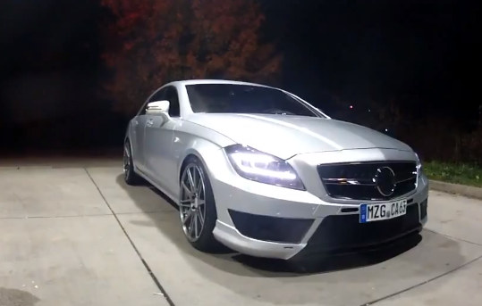 carlsson ck63 at Carlsson Mercedes CLS63 Top Speed Run   Video