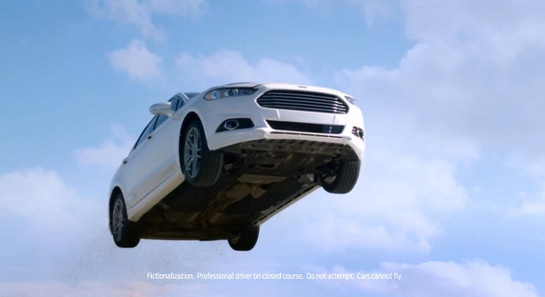 ford fusion goes airborne in new commercial. Cars Review. Best American Auto & Cars Review